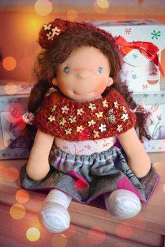 Waldorf doll doll waldorf  waldorf by Fairybugcreativetoys on Etsy