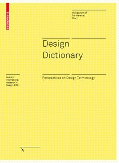Design Dictionary by guestcac505 via slideshare