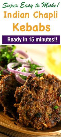 Chapli kabab chef zakir recipes in urdu pinterest kebabs spicy indian chapli kebabs ccuart Images