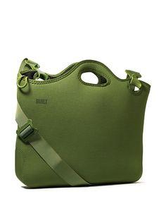 Neoprene laptop bag.