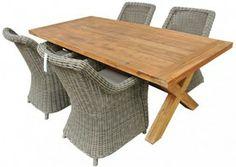 Draguignan Monalia 2.2m Setting :: 4seasons Wellington. Draguignan Table      Teak wood – indoor/outdoor     2.2m L x 1m W x 74cm H