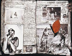 Peter Beard's photography, journalling, scribbling, writing = I love this man.