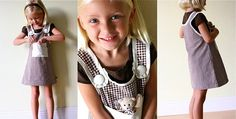 """Brown Jumper   made {{going to make this in RED for KT's """"Olivia"""" halloween/birthday costume}}"""