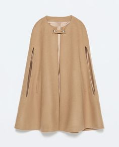 Image 7 of BUTTONED CAPE COAT from Zara