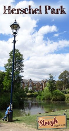 Herschel Park - Grade II listed oasis in the centre of Slough, Berkshire.