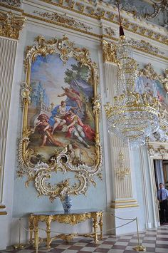 baroque rococo with frilly ornamentation designs every where with gold accent Angel Aesthetic, Aesthetic Art, Aesthetic Pictures, Architecture Baroque, Beautiful Architecture, Ancient Architecture, Modern Architecture, Art Vintage, Renaissance Art