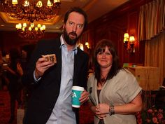 Stacey with Tom Green