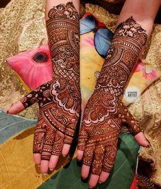 Bareek Bridal Mehendi Design