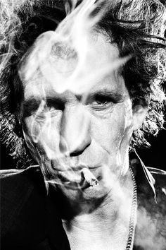 Keith Richards, Industria Studios, New York City, Late 1990's
