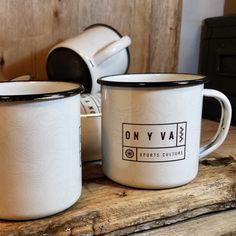 Retropots para On y Va Sports Culture que está a punto de arrancar y promete...  Decoración en todo el perímetro. Guapas! y una locura a la hora de hacerlas  — en Barcelona. #RETROPOT www.retropot.es #vintage #taza #mug #enamelmug #camping #camplife #retro #retropot #pot #peltre #coffee #tea #vintagemug #cup #deco #outdoor