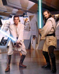 Obi-Wan and Qui-Gon