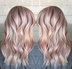 Illumina rose gold blonde by Janai Hartt