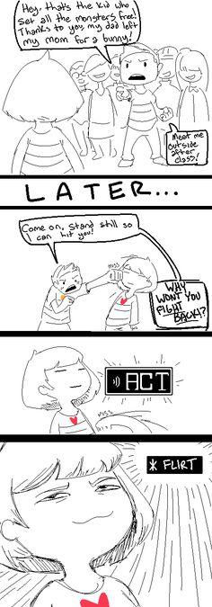 Frisk - comic