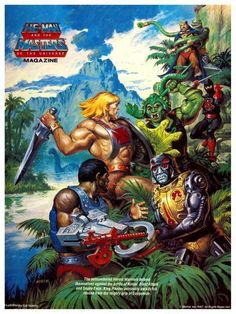 Masters of the Universe!
