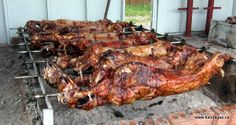 Best food ever! Greek Easter - whole lamb. Ham Recipes, Greek Recipes, Easter Recipes, Easter Ideas, Best Barbecue Sauce, Barbecue Recipes, Bbq, Cola Ham Recipe, Greek Easter