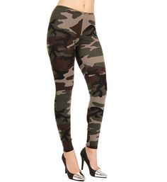 SALE-Camouflage Leggings. with a jean top and white converse. I THINK YES