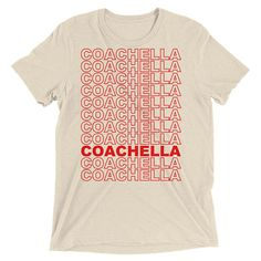 Coachella Shirt Coachella T Shirt Coachella Festival Coachella Clothing Coachella Style Coachella TShirt Coachella Fashion Coachella by 25VintagePlace