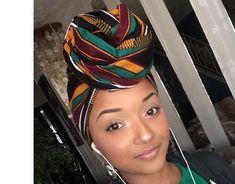 Elle a est Royal africain turban foulards de Kita par GCCBeauty