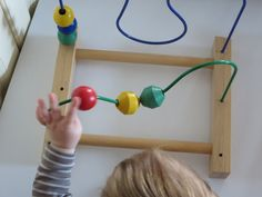 žogice in kravate: Žičnati labirint s kroglicami