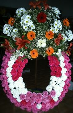Corona de Flores para funeral