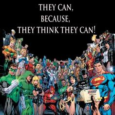 i like this quote, we can all be superheroes if we like we just need to find our secret identity!