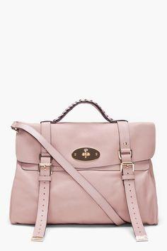 oversized alexa bag / mulberry - Yes please?
