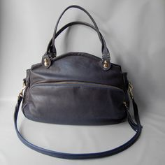 SP12  Bag in graphite by valhallabrooklyn on Etsy
