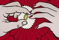 Roy Lichtenstein  The Ring (Engagement), 1962