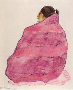 R.C. Gorman  I love his Navajo women. I own several of his prints.