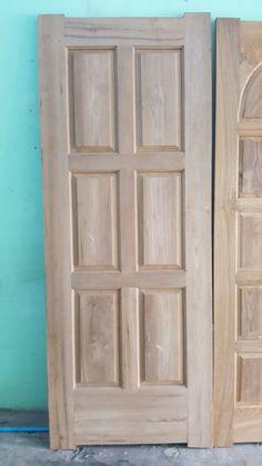 6 Panel Teak Wood Door