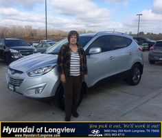 #HappyBirthday to Mary Eads from Danny Belew at Hyundai of Longview!