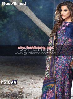 Latest Gul Ahmed Winter 2012 Dresses For Women