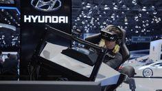 Die realitätsnahe, virtuelle Co-Driving Experience konzipierte und realisierte HERREN DER SCHÖPFUNG. Der erste Fahrsimulator seiner Art, der Hyundai i20 WRC 4D VR+ Simulator, basiert auf einer Motion-Plattform, die Fliehkräfte von bis zu 0,5g simulieren kann. Eine Oculus Rift-Brille spielt die 360°-Rennaufzeichnung ab und kombiniert sie mit den Motion- und Audio-Daten des Rennfahrzeugs. So entsteht aus einer weltweit bisher ungesehenen Kombination von Technologien ein multisensorisches…