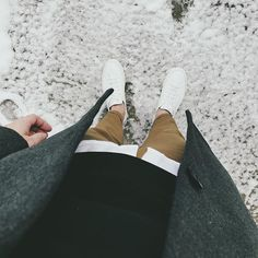 want it all // menswear, mens style, fashion, sneakers, sweater, topcoat, overcoat, winter, street style