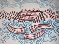 Blackbird has Spoken: Rua and the Sea People. Nz Art, Maori Art, Blackbird, Modernism, New Zealand, Nativity, Spirit, Culture, Sea
