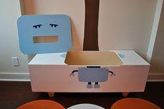 robot toy box