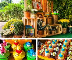 Winnie the Pooh Party Festa Infantil Ursinho Pooh