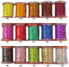 Holographic Tinsel - Size 1/32