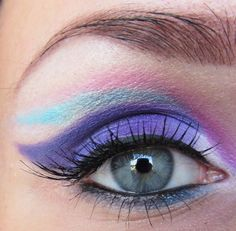 With dedication to my boyfriend, who loves my colourful makeups, as much i love him.