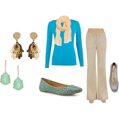 A fashion look from March 2012 featuring Precis Petite tops, Max Studio pants and b.o.c. Børn Concept flats. Browse and shop related looks.
