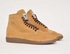 #adidas BW Hi #Neighborhood Brown #sneakers