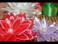 ▶ Master Class: kanzashi (Chrysanthemum) - YouTube