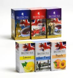 ... /Peach/Lemon/Spiced Chai Tea/ Six Pack of Assorted Flavored Tea Bags