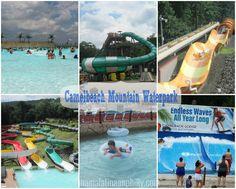 Nuestra visita a Camelbeach Waterpark en los ¡Poconos, PA!