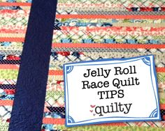 Jelly Roll Race Quilt :: Changing the Quilt Size & Determining ... : jelly roll quilt size - Adamdwight.com