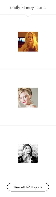 """""""emily kinney icons."""" by surprise-sidney ❤ liked on Polyvore featuring thewalkingdead, TWD, bethgreene, EmilyKinney, emily kinney and the walking dead"""