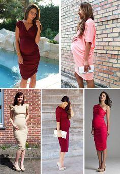 22f0477e9 Las 35 mejores imágenes de invitadas de boda embarazadas
