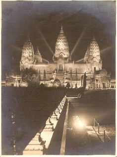 Colonial Exposition by night, Paris 1931