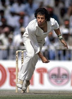 One of the most successful Test all-rounders in cricket history, Imran Khan has a real chance of becoming Pakistan's next prime minister, and a radical one at that. Pakistan Politics, Imran Khan Pakistan, Pakistan Zindabad, Test Cricket, Icc Cricket, Imran Khan Family, History Of Cricket, Different Sports, Cricket World Cup