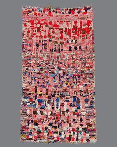 Vintage Moroccan Ourika Wool and Cotton Rug, circa Berber Carpet, Berber Rug, Mediterranean Rugs, Morrocan Rug, Moroccan, Carpet Trends, Textiles, Carpet Design, Persian Carpet